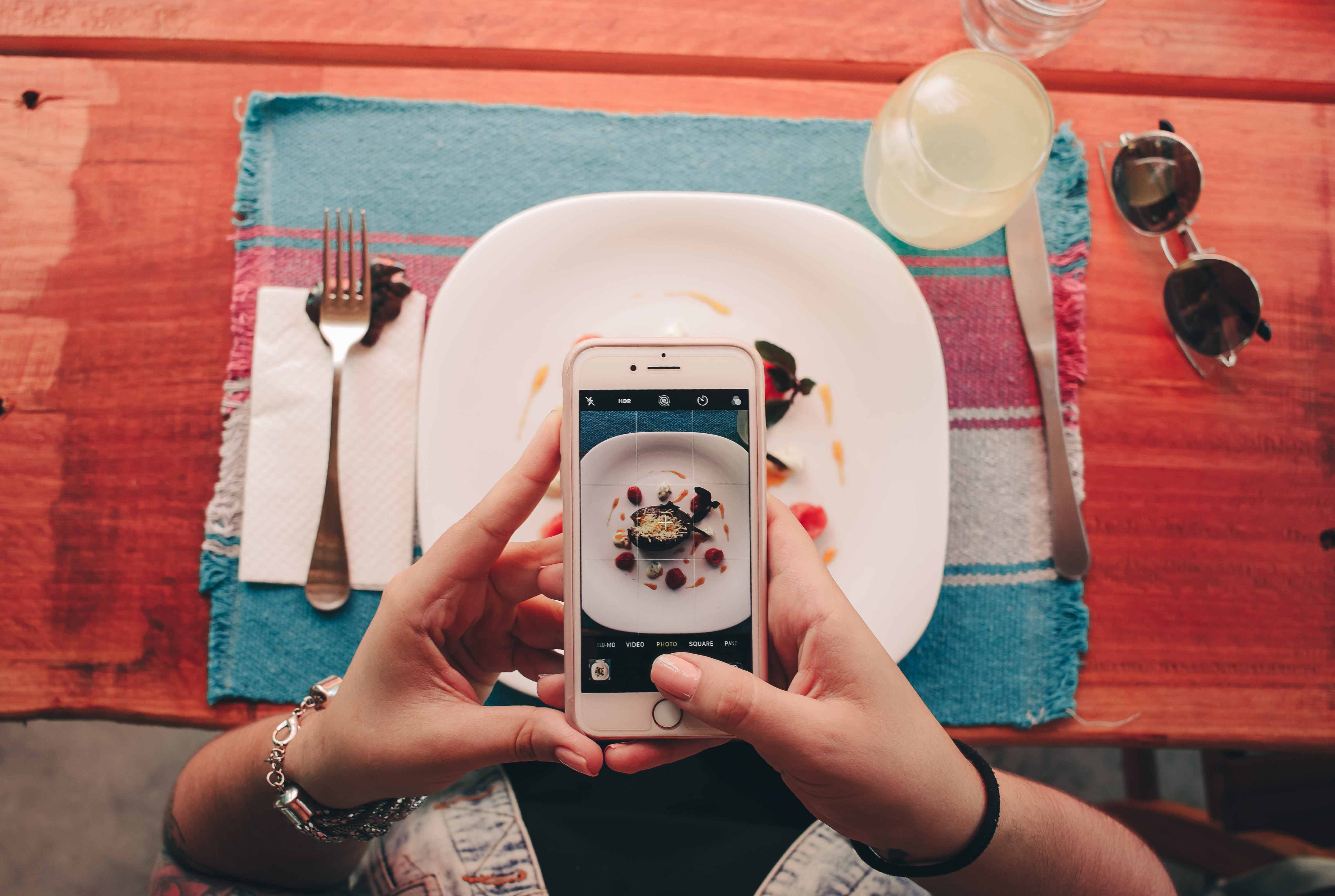 Millenials and their love for Insta-worthy foods.